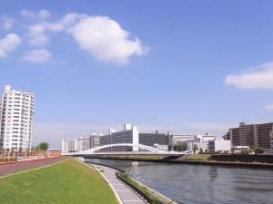隅田川の風景!