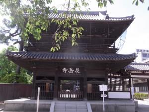 赤穂義士の墓がある高輪の泉岳寺