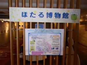 椿山荘の『ほたる博物館』